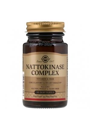 Nattokinase Complex 30 капс (Solgar)