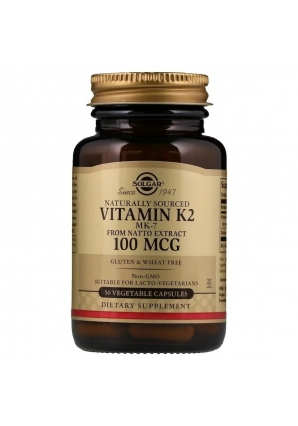 Naturally Sourced Vitamin K2 100 мкг 50 капс (Solgar)