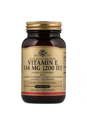 Naturally Sourced Vitamin E 134 мг (200 МЕ) 100 капс (Solgar)