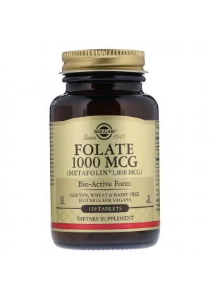 Folate 1000 мкг 120 табл (Solgar)