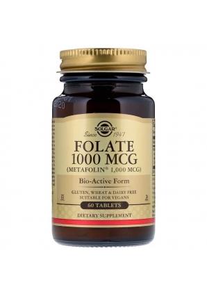 Folate 1000 мкг 60 табл (Solgar)