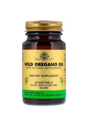 Wild Oregano Oil 60 капс (Solgar)