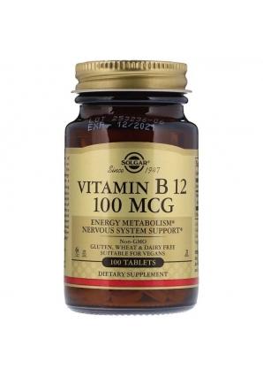 Vitamin B12 100 мкг 100 табл (Solgar)