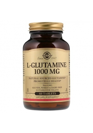 L-Glutamine 1000 мг 60 табл (Solgar)