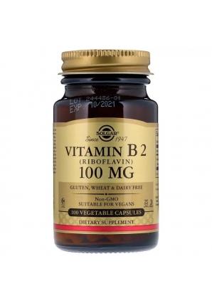 Vitamin B2 (Riboflavin) 100 мг 100 капс (Solgar)