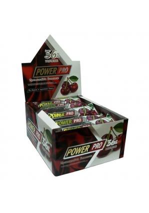 Протеиновый батончик 36% с кусочками вишни 20 шт 60 гр (Power Pro)