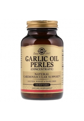 Garlic Oil Perles Concentrate 250 капс (Solgar)