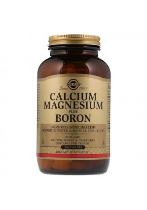 Calcium Magnesium Plus Boron 250 табл (Solgar)