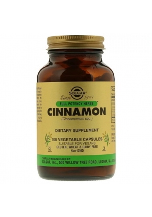 Cinnamon 100 капс (Solgar)
