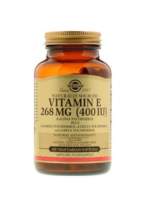 Naturally Sourced Vitamin E 268 мг (400 МЕ) 100 капс (Solgar)