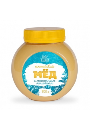 Мёд алтайский с маточным молочком 700 гр (Altaivita)