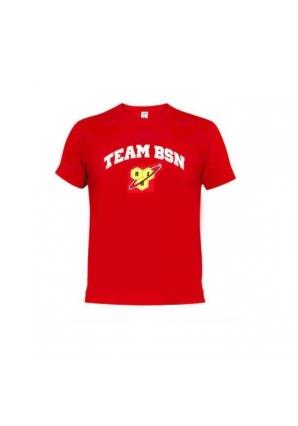 Футболка мужская красная (BSN)