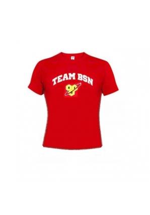 Футболка женская красная (BSN)