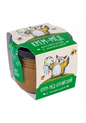 Алтайский крем-мёд с живицей 125 гр (Altaivita)