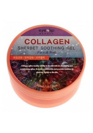 Гель для лица и тела Collagen Sherbet Soothing Gel 300 мл (Eyenlip)