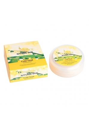 Питательный крем с золотом и муцином улитки Natural Skin Gold Snail Nourishing Cream 100 гр (Deoproce)