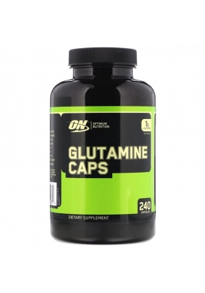 Glutamine Caps 1000 мг 240 капс. (Optimum Nutrition)