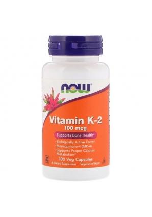 Vitamin K-2 100 мкг 100 капс (NOW)