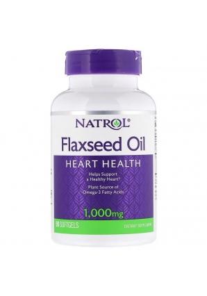 Flaxseed Oil 1000 мг 90 капс (Natrol)