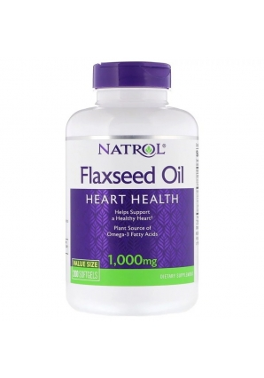 Flaxseed Oil 1000 мг 200 капс (Natrol)