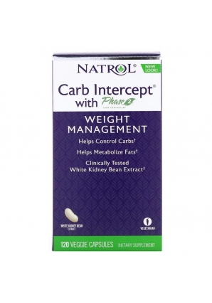 Carb Intercept with Phase 2 1000 мг 120 капс (Natrol)