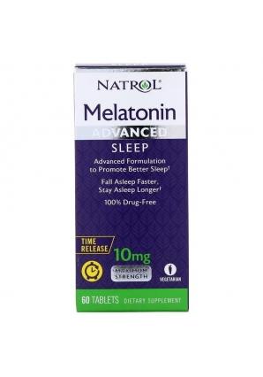 Melatonin Advanced Sleep 10 мг 60 табл (Natrol)