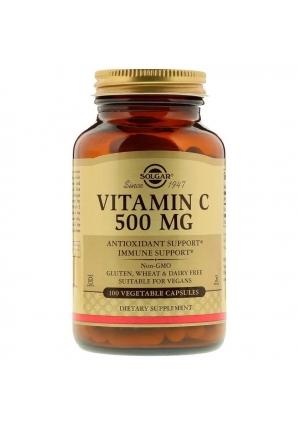 Vitamin C 500 мг 100 капс (Solgar)