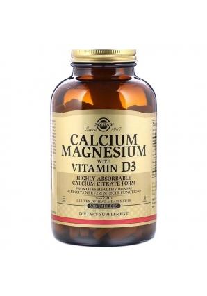 Calcium Magnesium with Vitamin D3 300 табл (Solgar)