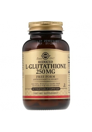 Reduced L-Glutathione 250 мг 60 капс (Solgar)
