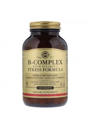 B-Complex with Vitamin C 250 табл (Solgar)