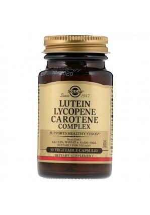 Lutein Lycopene Carotene Complex 30 капс (Solgar)
