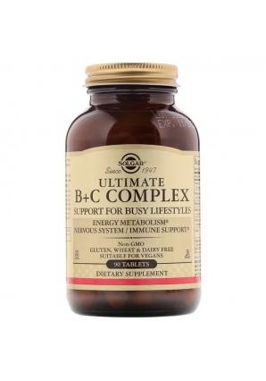 Ultimate B+C Complex 90 табл (Solgar)