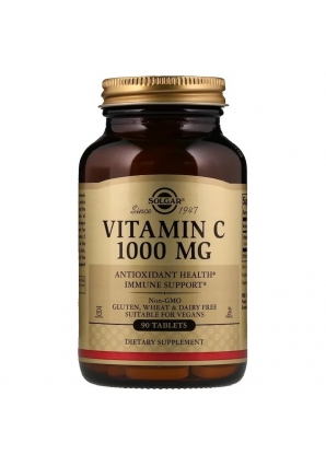 Vitamin C 1000 мг 90 табл (Solgar)