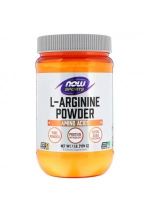 L-Arginine Powder 454 гр (NOW)