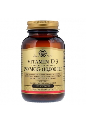 Vitamin D3 10 000 МЕ 120 капc. (Solgar)