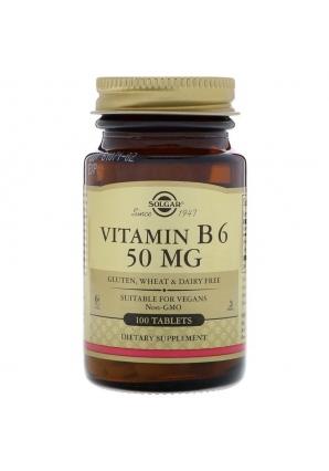 Vitamin B6 50 мг 100 табл (Solgar)