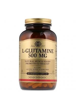 L-Glutamine 500 мг 250 капс (Solgar)