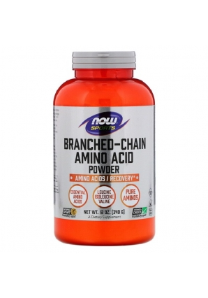 Branched Chain Amino Acid Powder BCAA 340 гр (NOW)